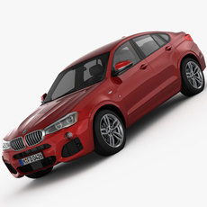 BMW X4 F26 M Sport Package 2015 3D Model