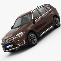 BMW X5 F15 Pure Experience 2014 3D Model