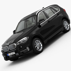 BMW X5 F15 Pure Excellence 2014 3D Model