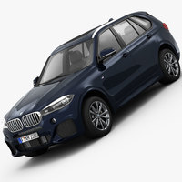 BMW X5 M Sport Package 2014 3D Model