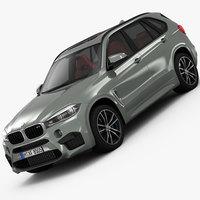 BMW X5 M 2016 3D Model