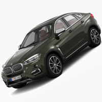 BMW X6 Design Pure Extravagance 2015 3D Model