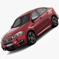 BMW X6 M Sport Package 2015 3D Model