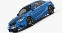 BMW M2 2016 3D Model