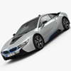 BMW i8 2015 3D Model