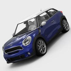 MINI Cooper Paceman 2013 3D Model