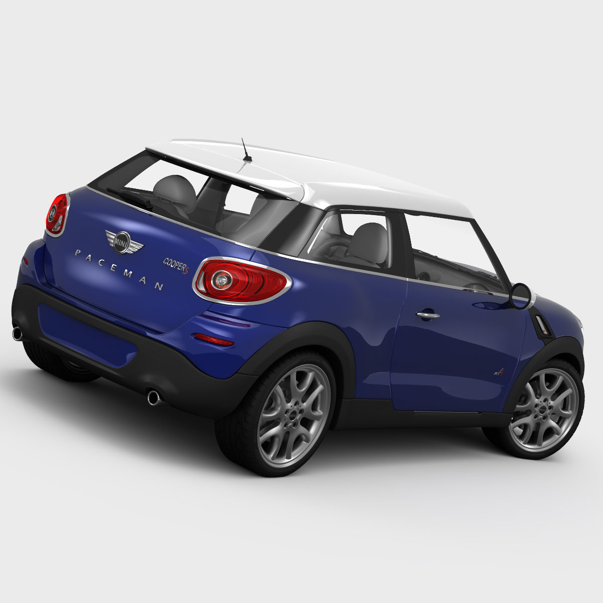 mini cooper paceman 2013 3d model. Black Bedroom Furniture Sets. Home Design Ideas