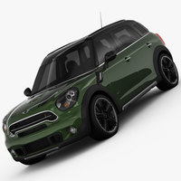 MINI Cooper S Countryman 2015 3D Model
