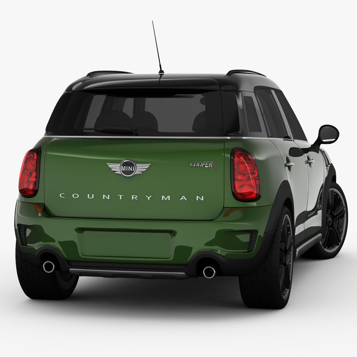 mini cooper s countryman 2015 3d model. Black Bedroom Furniture Sets. Home Design Ideas