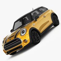 MINI Cooper S Hardtop 2015 3D Model