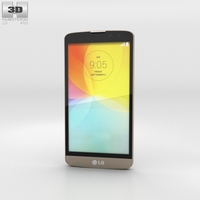 LG L Bello Gold 3D Model