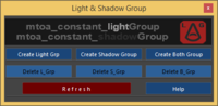 Free mtoa_Light_Grp & mtoa_Shadow_Grp for Maya 1.0.0 (maya script)