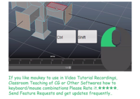 Mouse Keyboard OSD for Video Tutors - Moukey 4.3.3