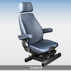 Car - Truck - Seat witch attachment 3D Model
