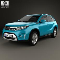 Suzuki Vitara (Escudo) 2015 3D Model