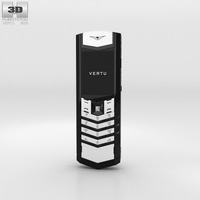 Vertu Signature Black and White 3D Model