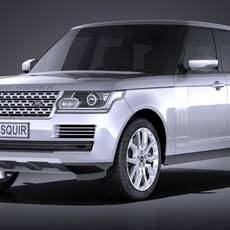 Land Rover Range Rover 2016 3D Model