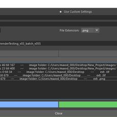 Export commandline renderScript for Maya 1.0.0 (maya script)