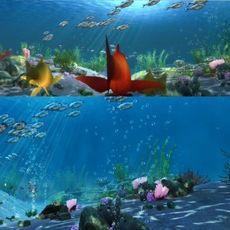 Underwater world 001 3D Model