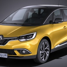 Renault Scenic 2017 3D Model