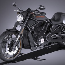 Harley-Davidson V-rod Night Rod Special 2016 3D Model
