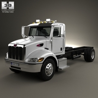 Peterbilt 337 Chassis Truck 2-axle 2006 3D Model