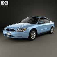 Ford Taurus 2000 3D Model