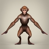 10 54 11 592 game ready realistic monkey 02 4
