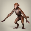 10 54 12 749 game ready realistic monkey 03 4