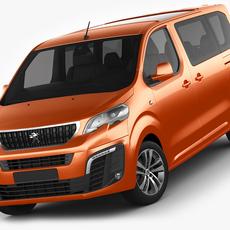 Peugeot Traveller 3D Model