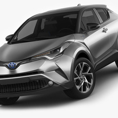 Toyota C-HR 2017 3D Model