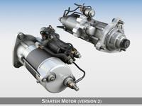 Starter Motor 02 3D Model