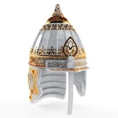 Parade helmet Russian prince. 10-12 century. 3D Model