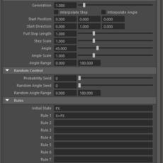 L-System Node for Maya 2.2.0 (maya plugin)