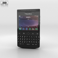 BlackBerry Porsche Design P'9981 Black 3D Model
