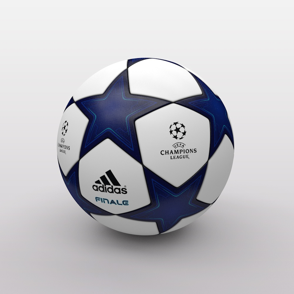 Champions League: UEFA Champions League Ball 2010/2011 3D Model