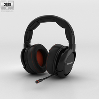 SteelSeries H-Wireless Gaming Headset 3D Model