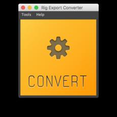 Rig Export Converter 1.0.7 for Maya (maya script)