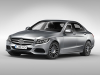 Mercedes Benz C Class (2015) 3D Model