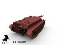 E-5 Rutscher 3D Model