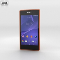 Sony Xperia E3 Copper 3D Model