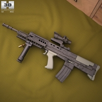 SA80 L85A2 3D Model