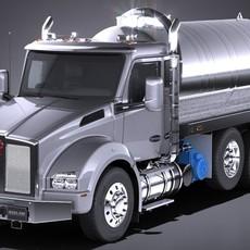 Kenworth T880 2017 Tank Truck 3D Model