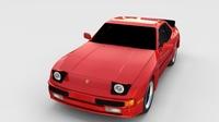 Porsche 944 new rev 3D Model