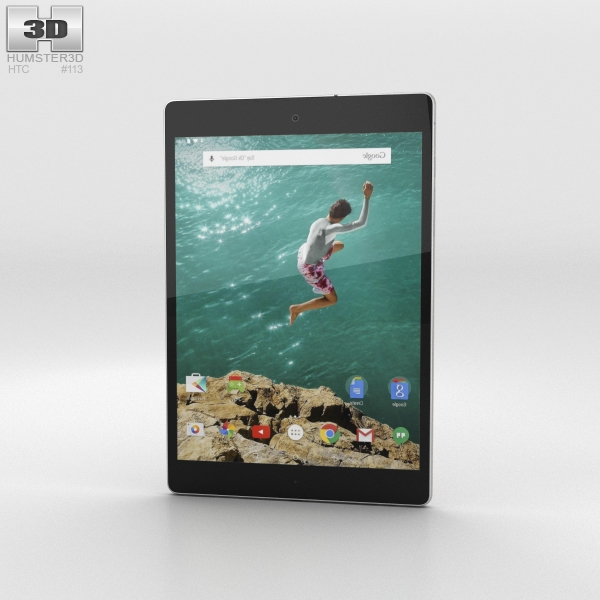 HTC Nexus 9 Sand 3D Model