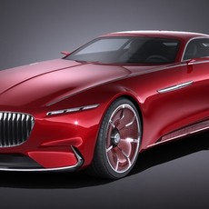 Mercedes Vision Maybach 6 Concept 3D Model