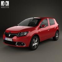 Renault Sandero (BR/RU) 2014 3D Model