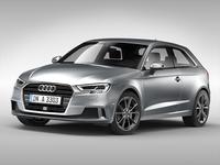 Audi A3 (2017) 3D Model