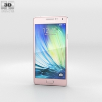 Samsung Galaxy A3 Soft Pink 3D Model