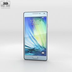 Samsung Galaxy A3 Light Blue 3D Model
